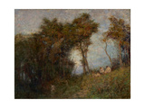 Afterglow (Summer Evening) 1912 Giclee Print by Frederick McCubbin