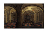 Vaulted Interior with Figures Giclee Print by Pieter The Elder Neeffs