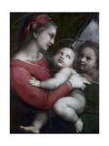 Madonna Della Tenda, C.1512 Impression giclée par  Raphael