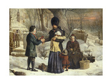 The Soldier's Farewell, the Parent's Gift [Leaving for the Crimea] Giclee Print by George Housman Thomas