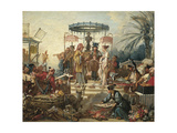 France, Chinoiseries, the Chinese Wedding Giclee Print