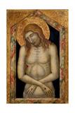 Christ Suffering, C.1330 Giclée-tryk af Pietro Lorenzetti