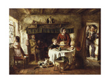 Christmas Day, 1867 Giclee Print by George Hardy