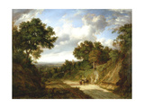 Landscape with Figures Giclee Print by Patrick Nasmyth