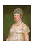 Dolley Madison, C.1817 Giclee Print by Bass Otis