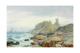 Ruin of a Northumbrian Keep, 1864 Giclee Print by Charles Napier Hemy