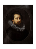 Portrait of Abraham Bloemaert (1566-1651), 1609, by Paulus Moreelse (1571-1638). Netherlands Giclee Print by Paulus Moreelse