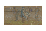 Sea, Beach and Figures Giclee Print by James Abbott McNeill Whistler