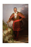 Portrait of Sa-Go-Ye-Wat-Hg or Red Jacket, C.1828 Giclee Print by Robert Walter Weir