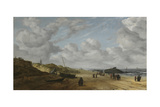 View of Scheveningen Sands, C.1630 Giclee Print by Hendrik Van Anthonissen