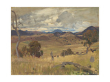 Michelago Landscape, 1923 Giclee Print by George Washington Lambert