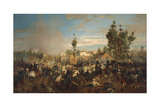 Second War of Independence, Battle of Magenta, 4 June 1859 Giclee Print by Girolamo Induno