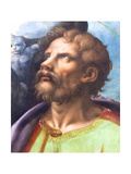 Head of a Saint Giclee Print by Giulio Romano