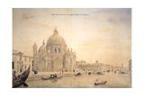 Chiesa Della Salute, Grand Canal, Venice Giclée-Druck von Gaspar van Wittel