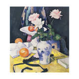 Roses and Oranges, C.1920 Giclee Print by Samuel John Peploe