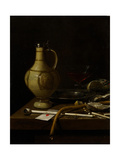 Still Life, 1658 Giclee Print by Jan Jansz. van de Velde