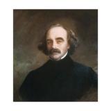 Nathaniel Hawthorne Giclee Print by Emanuel Gottlieb Leutze