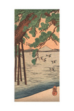 Kisibe No Matsu, Pine Tree on the Shore Giclee Print by Utagawa Kuniyoshi