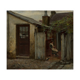 Girl with Bird at the King Street Bakery, 1886 Giclee Print by Frederick McCubbin