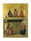 The Annunciation and Christ Suffering, C.1351-75 Giclée-Druck von Allegretto Nuzi