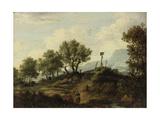 The Aberuchills (The Loch Aber Hills), 1824 Giclee Print by Patrick Nasmyth