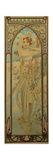The Times of the Day: Daytime Dash Giclee Print by Alphonse Mucha