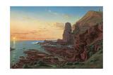 Castle Rock, Cape Schanck, 1865 Giclee Print by Eugen von Guerard