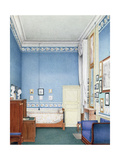 Bedroom of Marie Louise of Parma, 1832 Giclee Print by Giuseppe Naudin