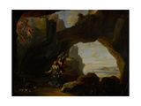 The Magdalen in a Cave, C.1650 Giclee Print by Johannes Lingelbach