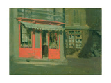 The Red Shop Giclee Print by Walter Richard Sickert