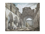 Buildwas Abbey, Shropshire, 18th Century Giclee Print by Michael Rooker