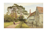 Igtham Moat, Kent, C.1868 Giclee Print by Benjamin Williams Leader