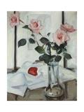Queen Elizabeth Roses, C.1918 Giclee Print by Samuel John Peploe