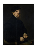 The Jeweller, 1549 Giclee Print by Sir Anthonis van Dashorst Mor