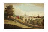 New Bridge over Pandon Dene, Newcastle Upon Tyne, C.1812 Giclee Print by  English School