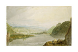 Remagen and Linz, 1817 Giclee Print by Joseph Mallord William Turner