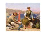 The Potter's Courtship, C.1886 Giclee Print by Arthur Hughes