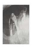 La Mort: 'C'Est Moi Qui Te Rends Serieuse;..', 1896 Giclee Print by Odilon Redon