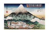 Clearing Weather, Enoshima', , from the Series 'Eight Views of Famous Places' Giclee Print by Toyokuni II