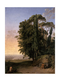 Landscape Near Frascati, 1783 Giclee Print by Johann Heinrich Wilhelm Tischbein