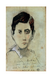 Marcel Proust (1871-1922) 25 March 1988 Giclee Print by Horst Janssen