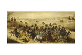 The Battle of Leckerbetken Giclée-Druck von Sebastian Vrancx