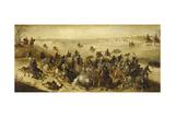 The Battle of Leckerbetken Giclee Print by Sebastian Vrancx