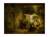 The Dream of Joseph, 1645 Giclee Print by  Rembrandt van Rijn