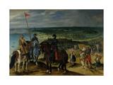 Battle Scene, 1601-15 Giclee Print by Sebastian Vrancx