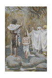 The Baptism of Jesus from 'The Life of Our Lord Jesus Christ' Giclee Print by James Jacques Joseph Tissot