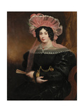Portrait of Mrs Richard Grainger, C.1827 Giclee Print by James Ramsay