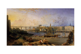 Newcastle Upon Tyne, 1862-63 Giclee Print by Edmund John Niemann