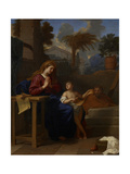 The Holy Family in Egypt, C.1660 Giclee Print by Charles Le Brun