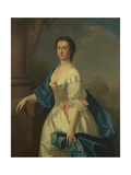 Portrait of a Lady, C.1744 Giclee Print by Allan Ramsay